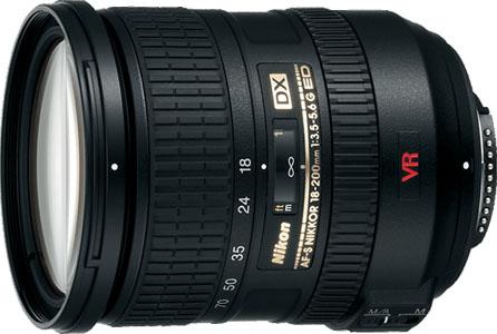 Nikkor 18-200mm AF-S Zoom Lens