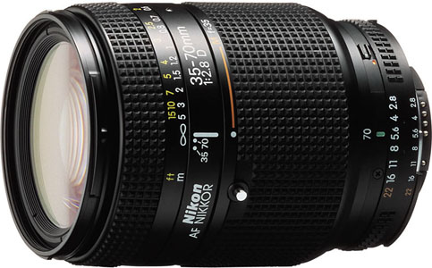Nikkor 35-70mm AFD Zoom Lens