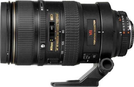 Nikkor 80-400mm AF-D Zoom Lens