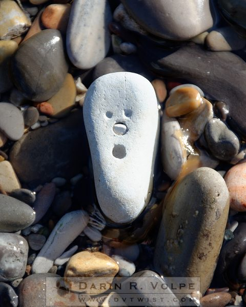 """Oh No!"" [Stone On A California Beach]"