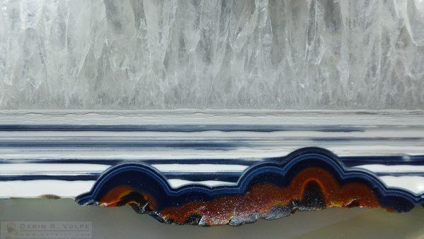 """Fiery Iceberg on Glacier Bay"" [Quartz at California Academy of Sciences - San Francisco, California]"