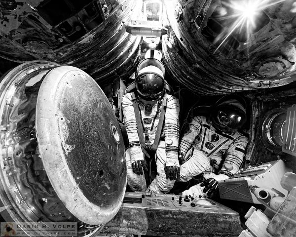 """""""First Runner Up"""" [Soyuz Descent Module at the Cabot Space & Science Center in Oakland, California]"""