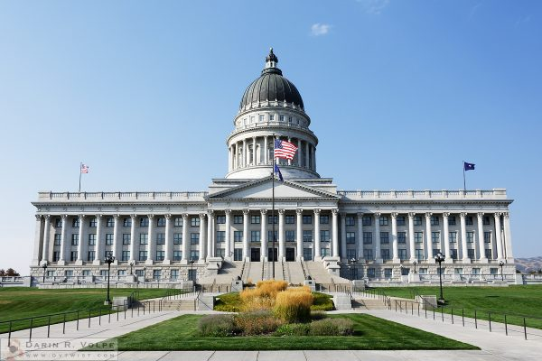"""Utah State Capitol Building"" [Salt Lake City, Utah]"