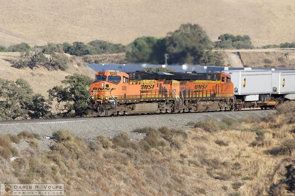 """One-Hundred Truck Convoy"" [BNSF Inter-Modal Train in The Tehachapi Mountains, California]"