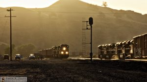 """I've Been Working on the Railroad"" [BNSF and Union Pacific Trains in Caliente, California]"