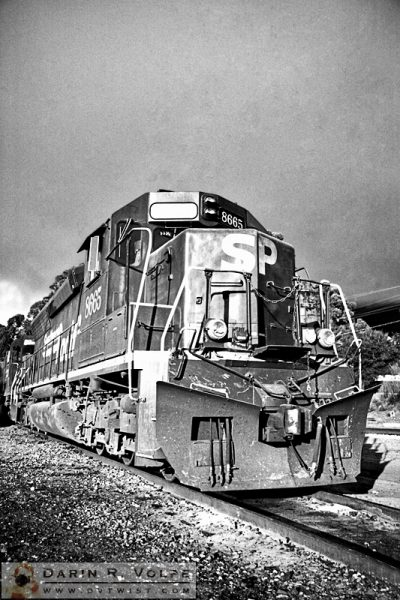 """3,000 Horses"" [Southern Pacific SD40M-2 Locomotive in San Luis Obispo, California]"