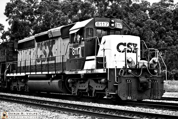 """Consolidation"" [CSX Transportation SD40-2 Locomotive in San Luis Obispo, California]"