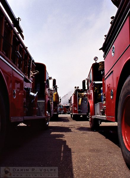 """Apparatus"" [Fire Engines in Morro Bay, California]"