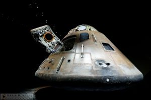 Chariot To The Moon [Apollo 14 Command Module At Kennedy Space Center, Florida]