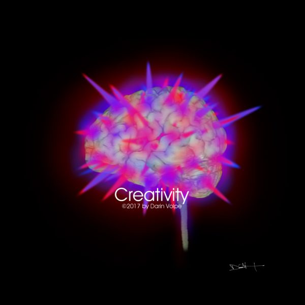 Creativity - MRI Digital Art