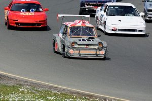 """Divine Wind"" by Darin Volpe [Honda N600 -more Or Less- at the 24 Hours Of Lemons Race, Sonoma California]"