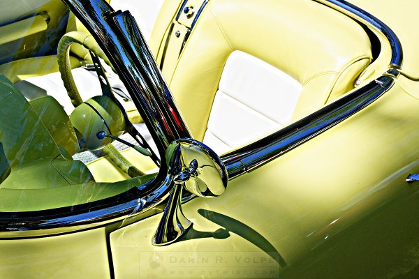 """Driver's Seat"" [1958 Chevrolet Corvette At The Golden State Classic Car Show, Paso Robles CA]"