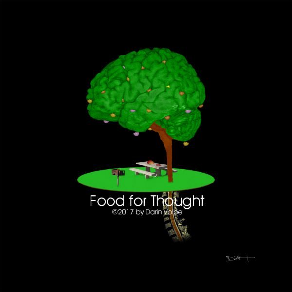 Food for Thought -- MRI Digital Art