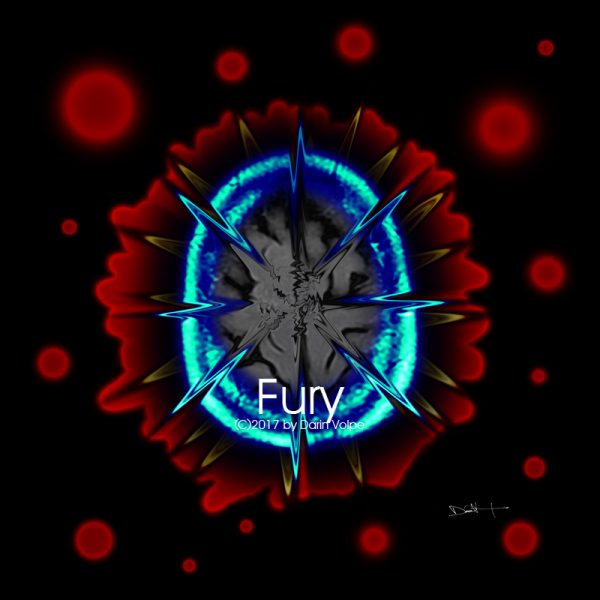 Fury -- MRI Digtal Art