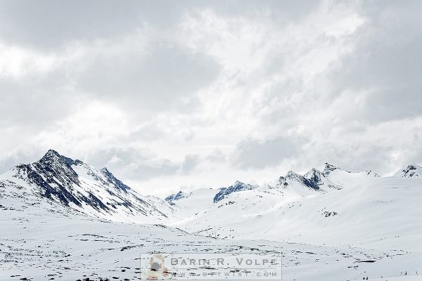 """""""Gateway To The Klondike"""" [Snow-covered Landscape In British Columbia, Canada]"""