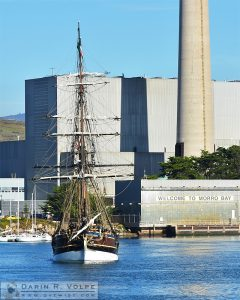 Lady Washington Visits Morro Bay, California