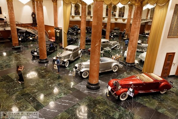 Reproduction 1920's Automobile Dealership, Nethercutt Museum - Sylmar, California