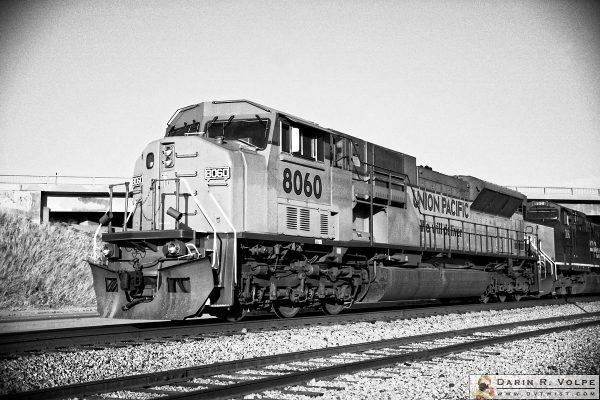 """New Kid on the Block"" [Union Pacific EMD SD9043MAC Locomotive in Soledad, California]"