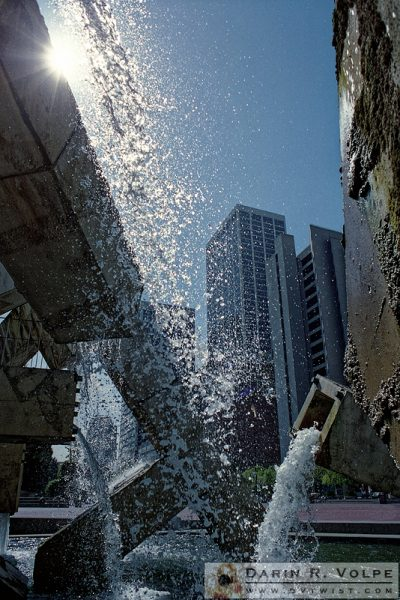 """Plumbing Problems"" [Vaillancourt Fountain in San Francisco, California]"