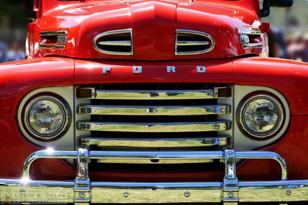 """Red"" by Darin Volpe [1948 Ford F-1 At The Golden State Classic Car Show In Paso Robles California]"