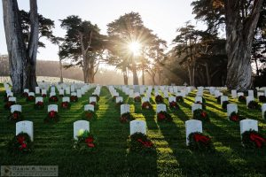 """Remembrance"" by Darin Volpe - San Francisco National Cemetery, California"