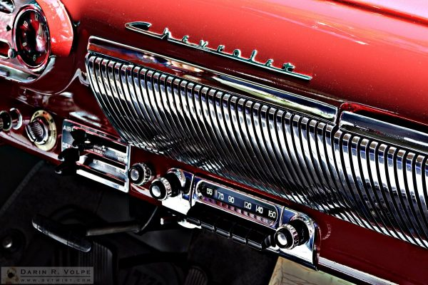"""""""Rock Around The Clock"""" by Darin Volpe [1954 Bel Air Radio At The Golden State Classic Car Show, Paso Robles California]"""