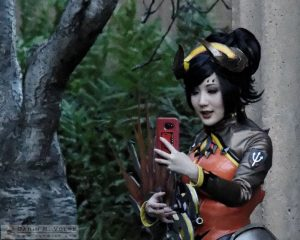 """Selfie"" by Darin Volpe - Cosplayer at the Palace of Fine Arts, San Francisco, California"