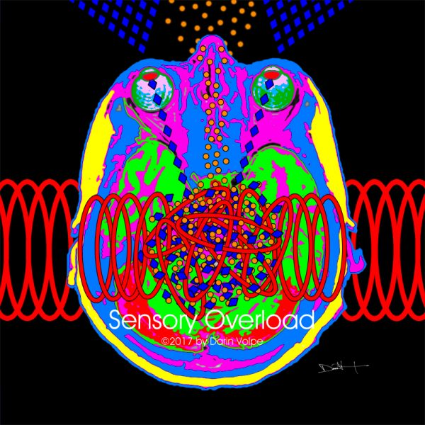 Sensory Overload -- MRI Digital Art