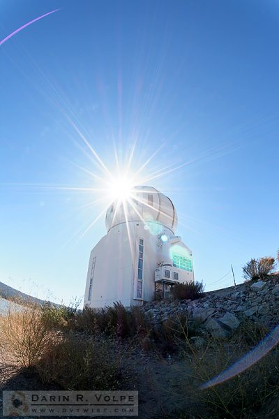 """She Blinded Me With Science"" [Big Bear Solar Observatory In Big Bear, California]"