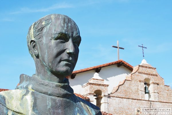 Statue of Father Junipero Serra - Mission San Antonio de Padua