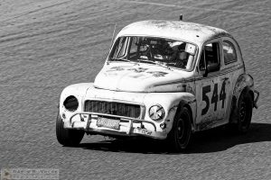 """Swedish Meatball"" by Darin Volpe [1963 Volvo Pv544 At The 24 Hours Of Lemons Race, Sonoma California]"
