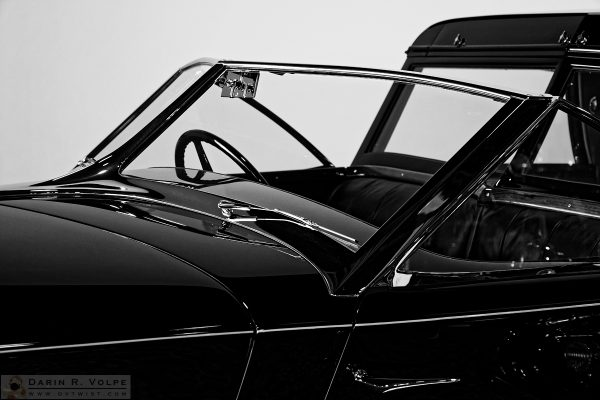 """The Black Phantom"" [1930 Rolls-royce Phantom II Town Car At The Nethercutt Museum, Sylmar, CA]"