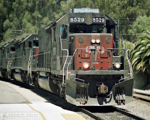 """Tunnel Motor"" [Southern Pacific SD40T-2 Locomotive in San Luis Obispo, California]"