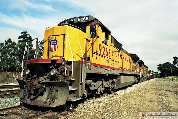 """UP 9268"" [Union Pacific General Electric C40-8 Locomotive in San Luis Obispo, California]"