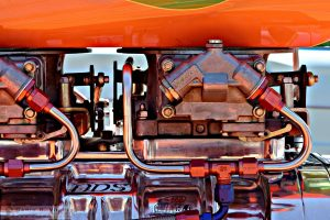 """Watching Your Carbs"" by Darin Volpe [Holley Carburetor At The Golden State Classic Car Show, Paso Robles California]"