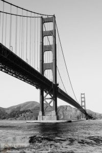"""Water Under The Bridge"" by Darin Volpe - Golden Gate Bridge, San Francisco California"