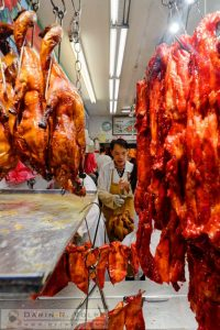 Your Goose is Cooked -- Chinese Restaurant Kitchen in San Francisco's Chinatown, California
